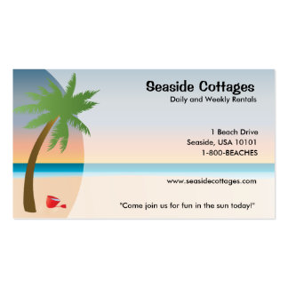 Beach or Oceanside Business Cards