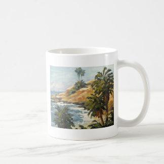 Beach Overlook Classic White Coffee Mug