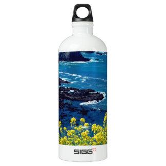 Beach Pacific Coastline Wildflowers Mendocino SIGG Traveler 1.0L Water Bottle