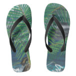 Beach Palm Flip-Flops Flip Flops