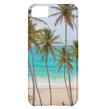 Beach Themed Beach Palms Cover For iPhone 5C