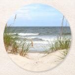 """Beach Paper Coasters<br><div class=""""desc"""">Beach</div>"""
