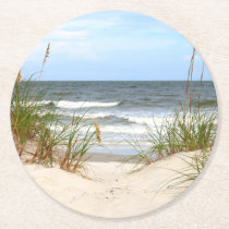 Beach Paper Coasters