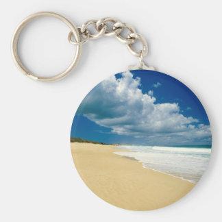 Beach Papohaku Molokai Hawaii Key Chains