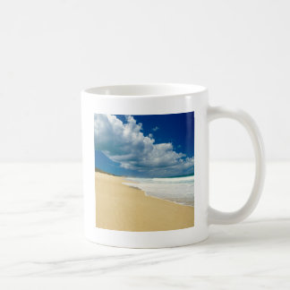 Beach Papohaku Molokai Hawaii Coffee Mugs