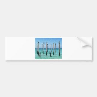 Beach Paradise Bumper Sticker