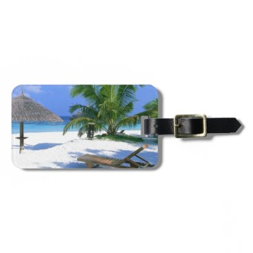 Beach Themed Beach Paradise Vacation Bag Tag