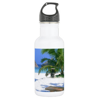 Beach Paradise Vacation Water Bottle