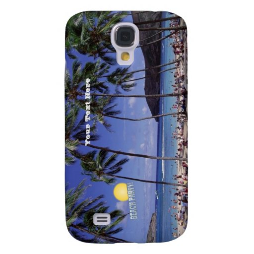 Beach Party! 3G/3GS i Galaxy S4 Cases