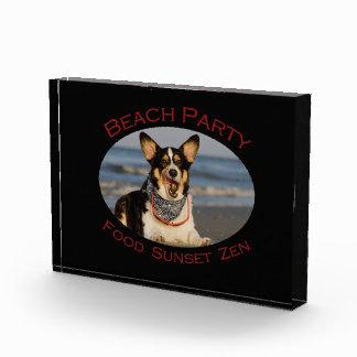 Beach Party Acrylic Award