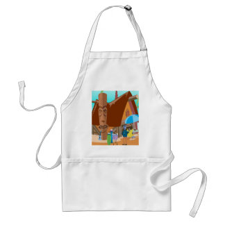 Beach party adult apron
