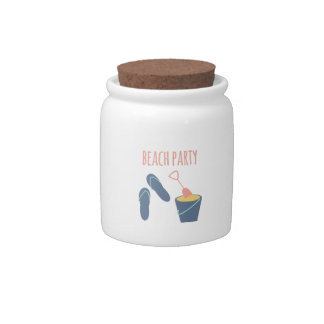 Beach Party Candy Jars