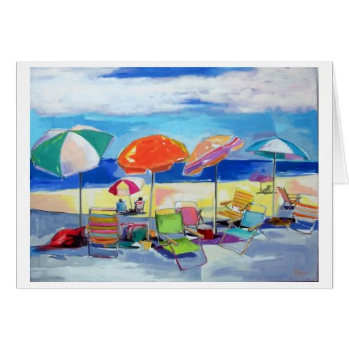 beach party zazzle_card