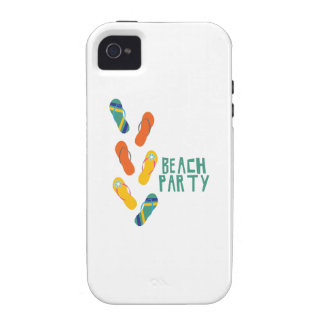 Beach Party Vibe iPhone 4 Cover