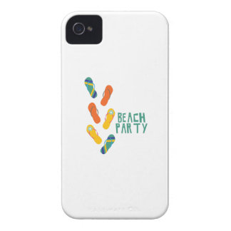 Beach Party iPhone 4 Case-Mate Cases