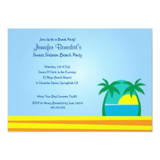 Beach Party  Custom Invitation