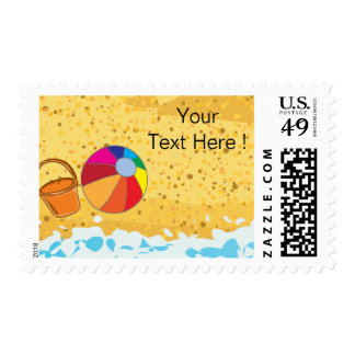 Beach Party - Cute postage