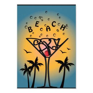 Beach Party design Card