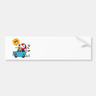 Beach Party Family Reunion Bumper Stickers