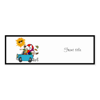 Beach Party Family Reunion Business Cards
