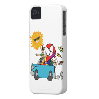 Beach Party Family Reunion iPhone 4 Covers