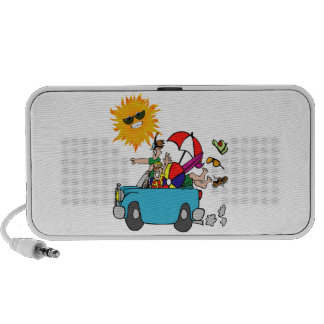 Beach Party Family Reunion Laptop Speakers