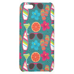 Beach Party Flip Flops Sunglasses Beach Ball Blue iPhone 5C Cases
