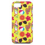 Beach Party Flip Flops Sunglasses BeachBall Yellow iPhone 5 Covers