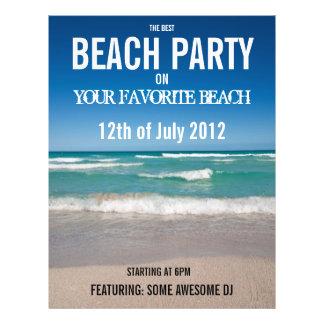Beach Party - Flyer