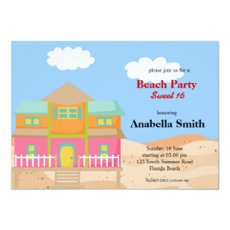 Beach Party Announcements