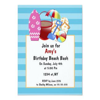 Beach Party Invitations & Announcements | Zazzle