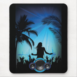 Beach Party Mouse Pad