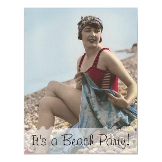 Beach Party Personalized Invitation