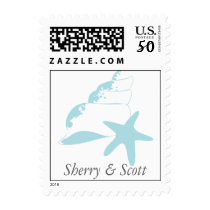 Beach party postage