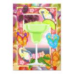 Beach Party -  SRF 5x7 Paper Invitation Card