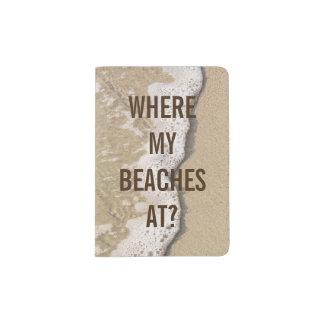 Beach Passport Holder