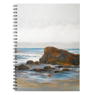 Beach, Pastel Notebook