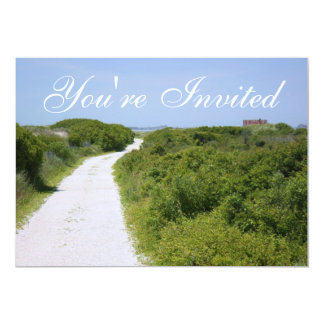 Beach Path Invitation