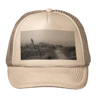 Beach path trucker hat