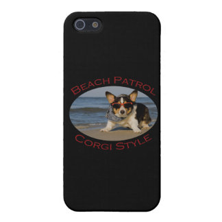 Beach Patrol, Corgi Style Case For iPhone SE/5/5s
