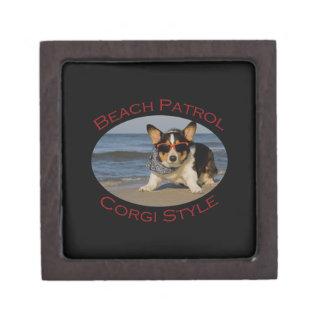 Beach Patrol, Corgi Style Gift Box