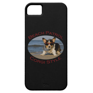 Beach Patrol, Corgi Style iPhone SE/5/5s Case