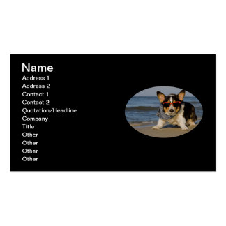 Beach Patrol Double-Sided Standard Business Cards (Pack Of 100)