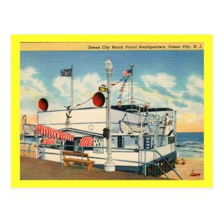 Beach Patrol, Ocean City NJ Vintage Post Card