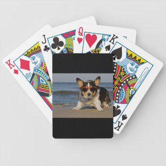 Beach Patrol Officer Bicycle Playing Cards