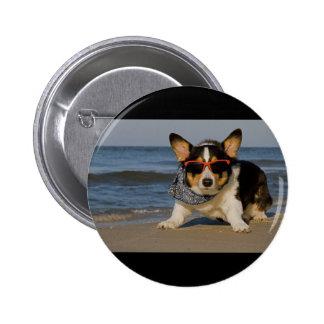 Beach Patrol Officer Buttons