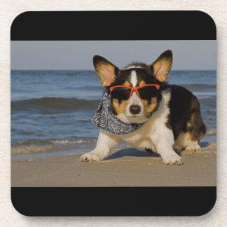 Beach Patrol Officer Drink Coaster