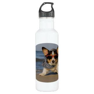 Beach Patrol Stainless Steel Water Bottle