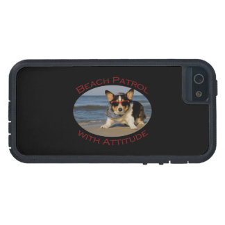 Beach Patrol with Attitude iPhone SE/5/5s Case