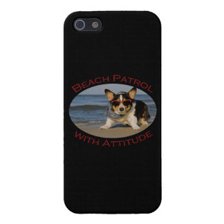 Beach Patrol with Attitude iPhone SE/5/5s Cover